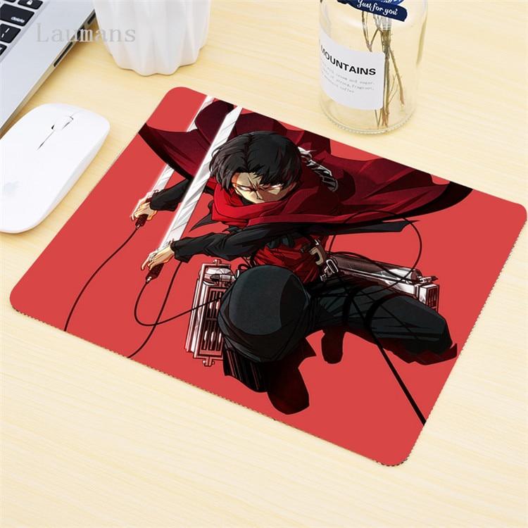 attack on titan mousepad gaming mouse pad gamer mat Fashion game computer desk padmouse keyboard player mats