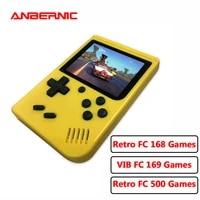 anbernic rg rc 500 retro games video console handheld portable pocket player mini machine for kids birthday gift tetro game