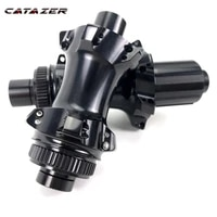 catazer r19 road bike disc brake hub straight pull low resistance only 395gpair bicycle hub front 145g rear 250g