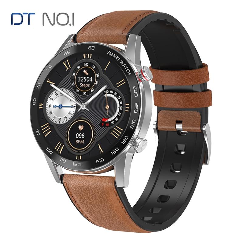 DT NO.1 DT95 ساعة Bluetooth ذكية مكالمة IP68 للماء ECG معدل الحرارة 360*360 إنذار النوم VS P16 L16 Smartwatch الأعمال الرياضية