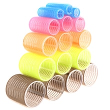 6 pieces / batch No. 5 hairdressing home use DIY magic large self-adhesive hair curler hairdressing