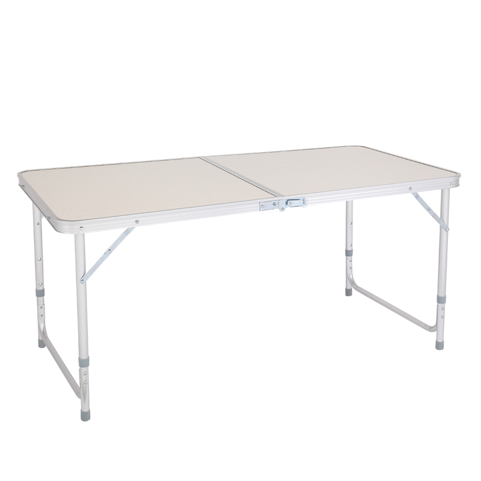Foldable Table Camping Outdoor Furniture Aluminum Alloy Picnic Party BBQ Portable Table Durable Folding Desk Height Adjustable