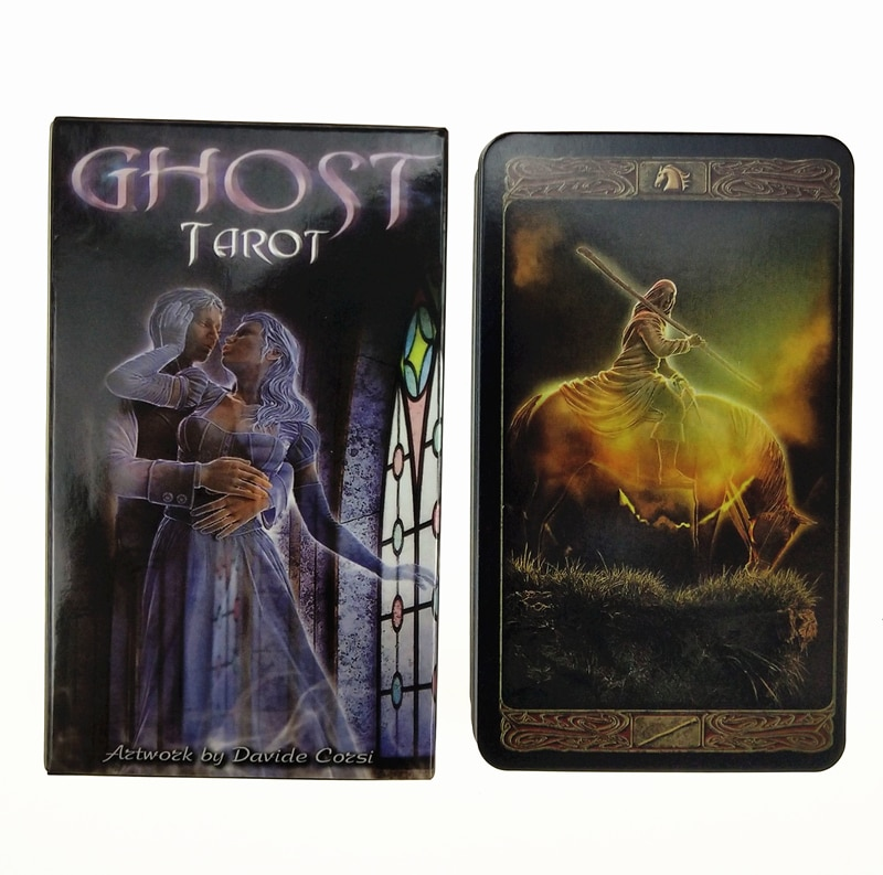 Ghost Tarot Cards, Manara, Forest of Enchantment Tarot with Guidebook 78 Cards Deck, Card Game Board Game Divination недорого