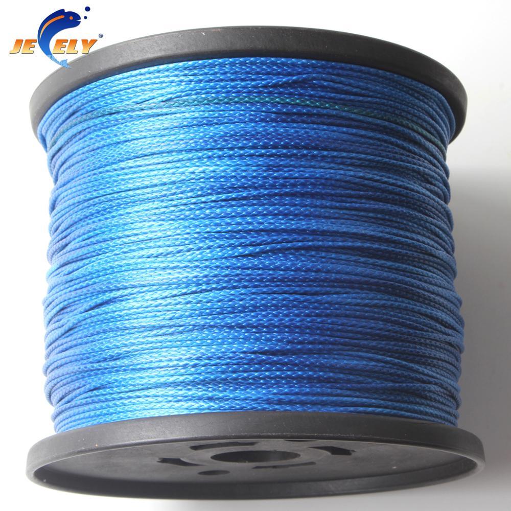 Jeely 10m 500lb uhmwpe fiber braid spearfishing gun wishbone rope flat version 1.4mm 6 weave