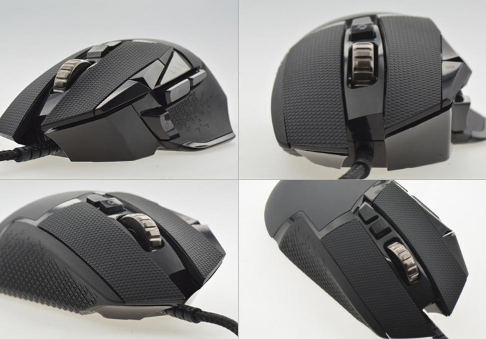 Ratón Anti-Cinta elásticos almohadillas de juegos para ratón Logitech G502