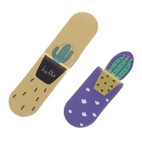 1 Set Fresh Cactus Magnetic Bookmarks Books Marker Of Page School Office Supply