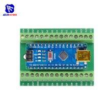 CH340 CH340G Nano V3.0 3,0 Controller Fahrer ATMEGA328 ATMEGA328P Terminal Expansion Board Nano IO Schild für Arduino AVR