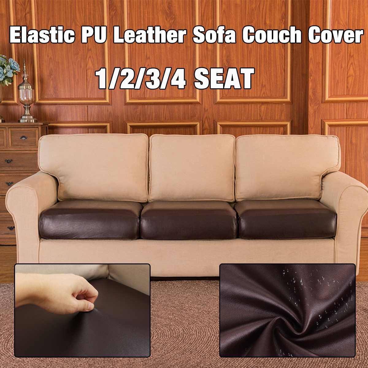 Funda de sofá de poliéster PU impermeable estilo europeo sofá cama funda de sofá asiento elástico sofá cama Protector