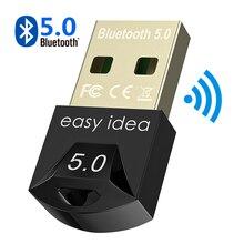 Adaptador USB inalámbrico con Bluetooth 5,0 para ordenador Bluetooth Dongle USB Bluetooth 4,0 PC adaptador Bluetooth receptor transmisor