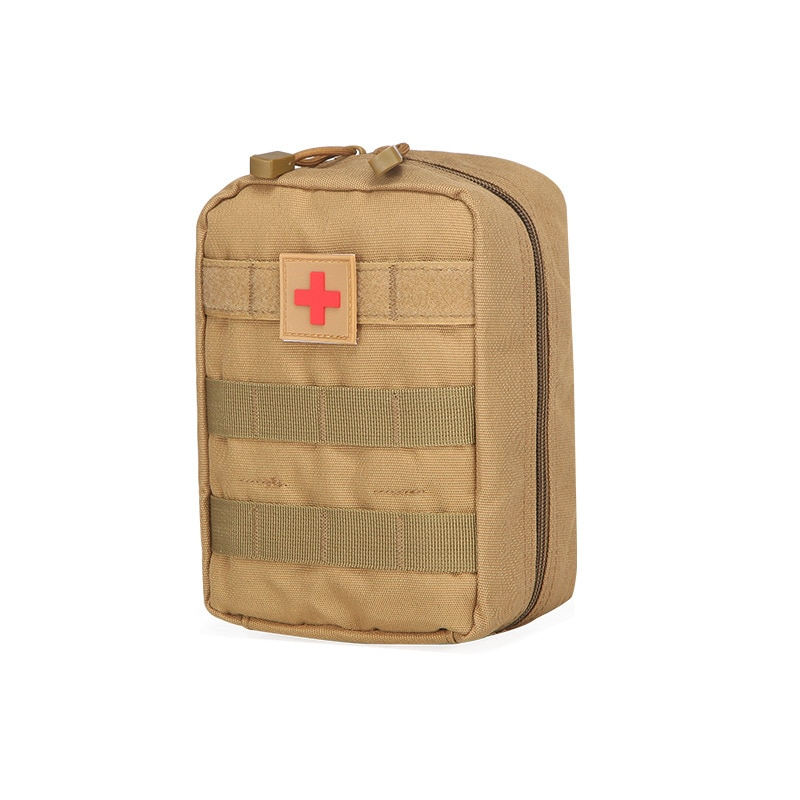 Hot outdoor tactical waist bag hanging sports medical first aid red label