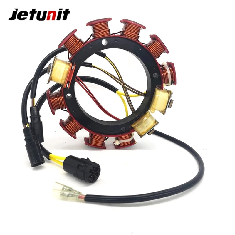 Outboard Stator For Johnson Evinrude 1993-2001 (185,200&225HP–6 Cyl)1995-2001 (250&300HP–8Cyl) 584643 763779 18-5877 173-4643 enlarge