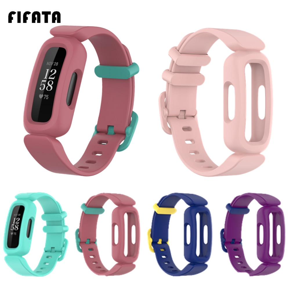 FIFATA-repuesto de silicona suave para Fitbit ace 2, pulsera deportiva para Fitbit...