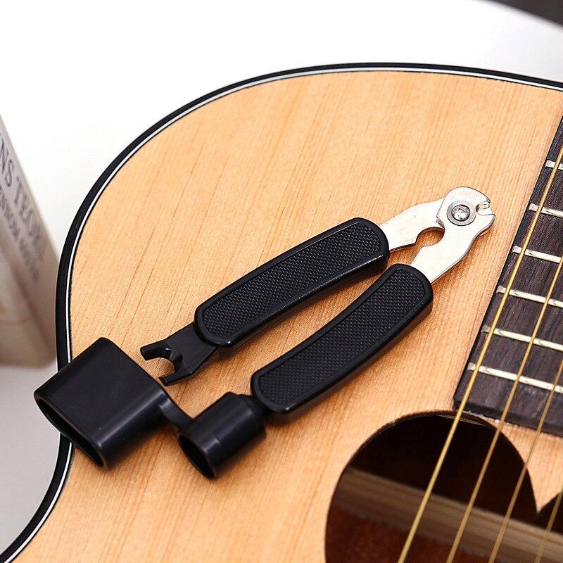 3 в 1 многофункциональный инструмент для намотки струн для гитары инструмент для настройки гитары аксессуары для гитары