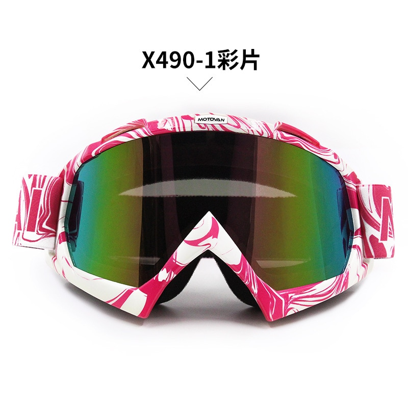 VEMAR Motocross Goggles Glasses Cycling MX Off Road Helmets Ski Sport Gafas Motorcycle Dirt Bike Racing Goggles Fit Moto Helmets enlarge