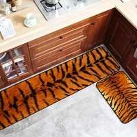 kitchen carpet modern design imitation animal pattern living room rug home bedroom bedside area floor mats animal carpet selling