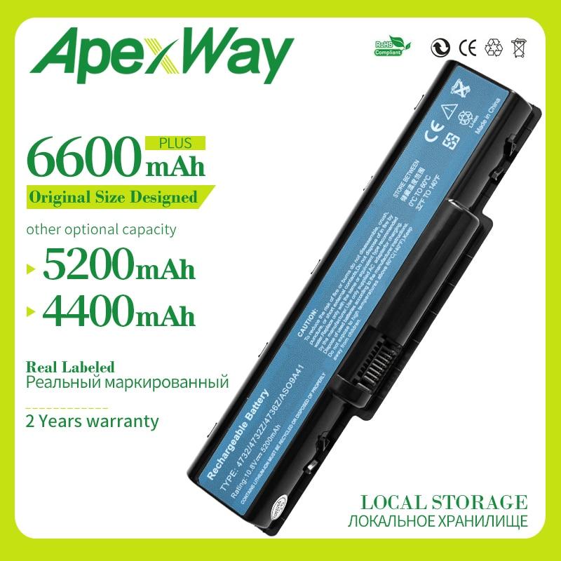 Apexway 6 cells 11.1v Laptop Battery for Acer AS09A31 AS09A41 AS09A71 for eMachines E725 E525 E525 E725 for Aspire 5732Z