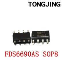 Nieuwe Originele FDS6990AS FDS6690A Sop-8 Chip Mos Buis Chip (5Pcs)