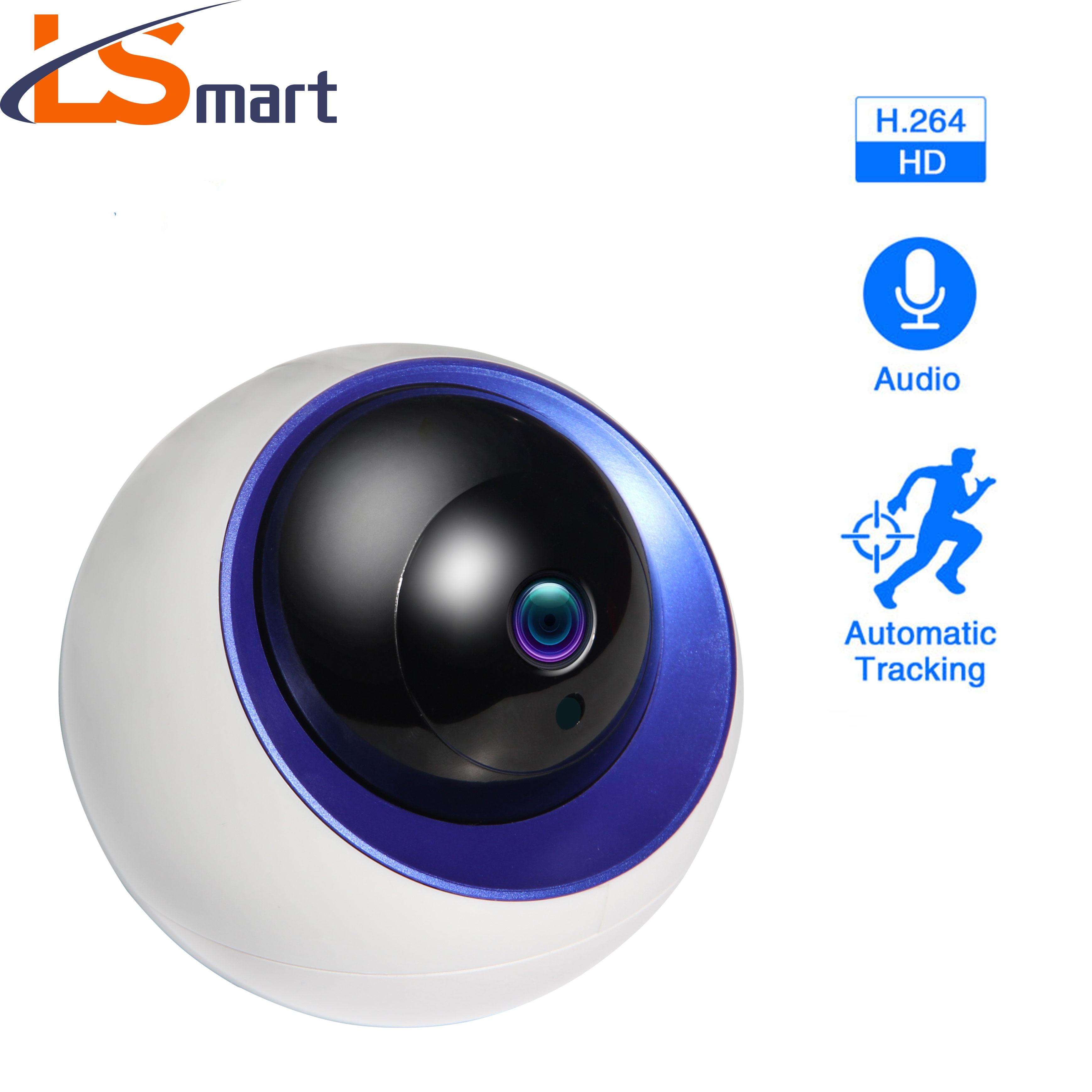 كاميرا IP WiFi YCC365 Plus ، تتبع تلقائي للكشف عن الإنسان