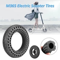 10 inch hollow non pneumatic scooter anti puncture non slip solid tyre for xiaomi m365 tire wheel electric scooter replace tire