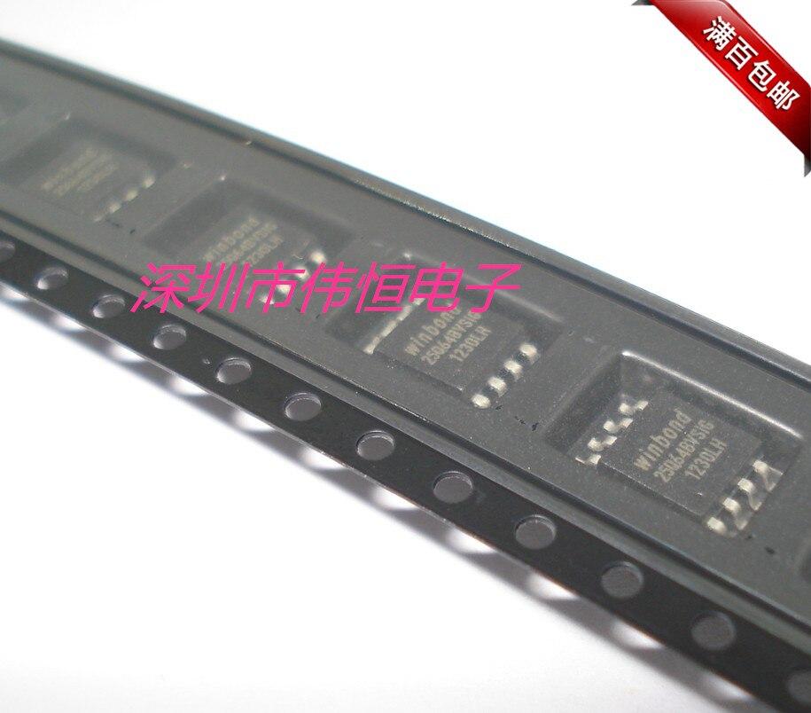 10 unids/lote 25Q64BVSING W25Q64BVSIG SOP-8 SOP8 SMD SOP memoria IC circuitos integrados en Stock
