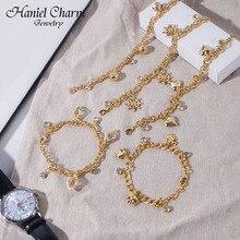 2021 Fashion Lucky Elephant Heart Charm Bracelets&Bangles Gold Bracelets  For Women Chain Charm Brac