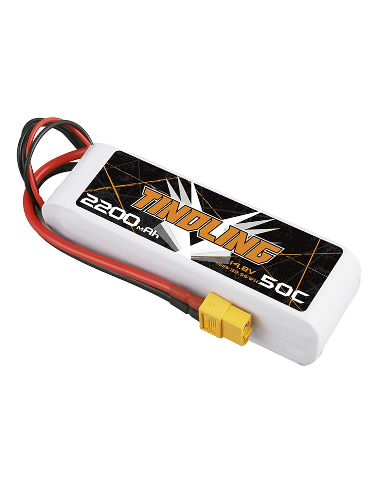 2PCS 2200mAh 50C 14.8V Lipo Battery  For RC Aircraft Quadrotor Drone Airplane 4S Batteries for Battery XT60 plug For RC Drone enlarge