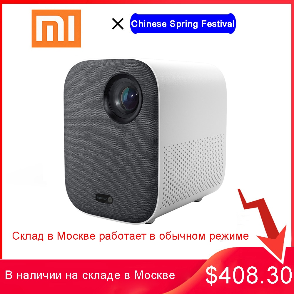 Xiaomi Mijia Mini Projector DLP Portable 1920*1080 Support 4K Video WIFI Proyector LED Beamer TV Ful
