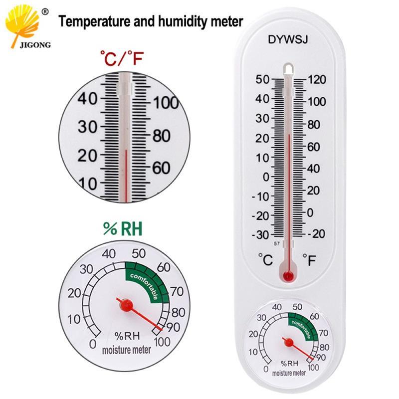 Настенный комнатный гигрометр, Уличный Термометр, цифровой измеритель влажности, гигрометр для сада, дома, офиса, термометр