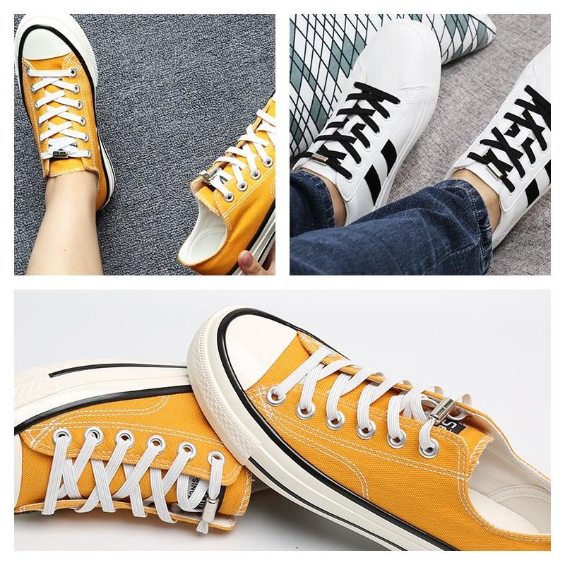 Sneaker Elastic Laces For Shoes Sports lazy shoe laces Do Not Tie Shoelaces Men's Women's Kids Stude