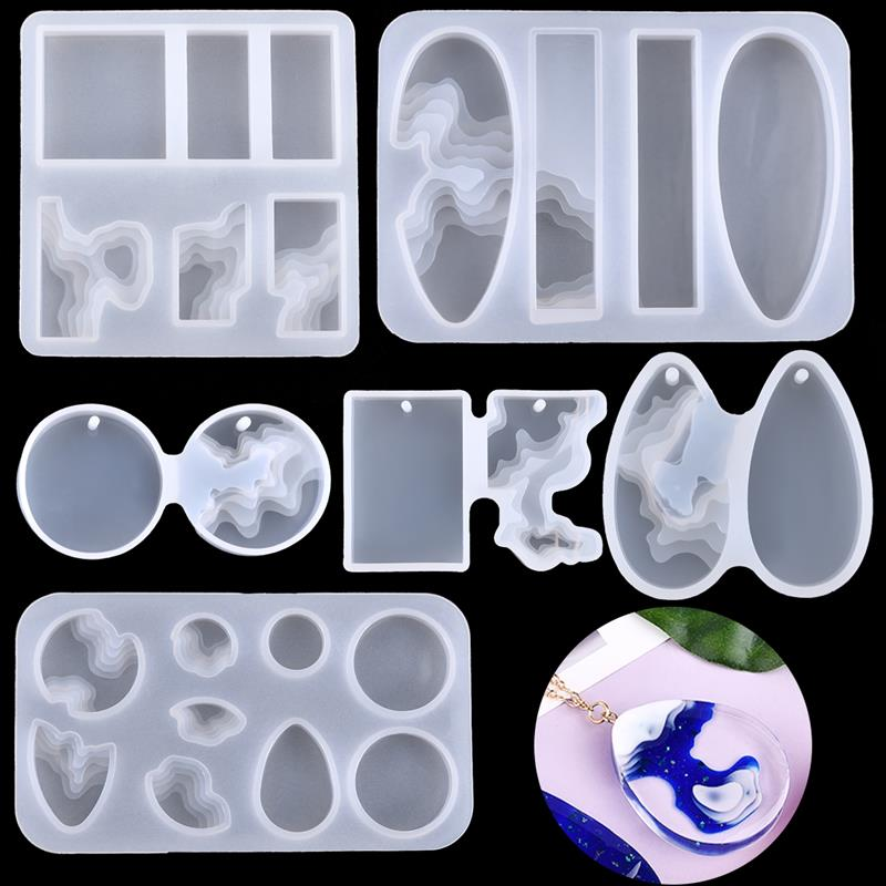 Demixing Pendant Resin Mold Silicone Mold Casting Molds Epoxy UV Jewelry Making Moulds Jewelry Making Jewelry Tools demixing pendant resin mold silicone mold casting molds epoxy uv jewelry making moulds jewelry making jewelry tools