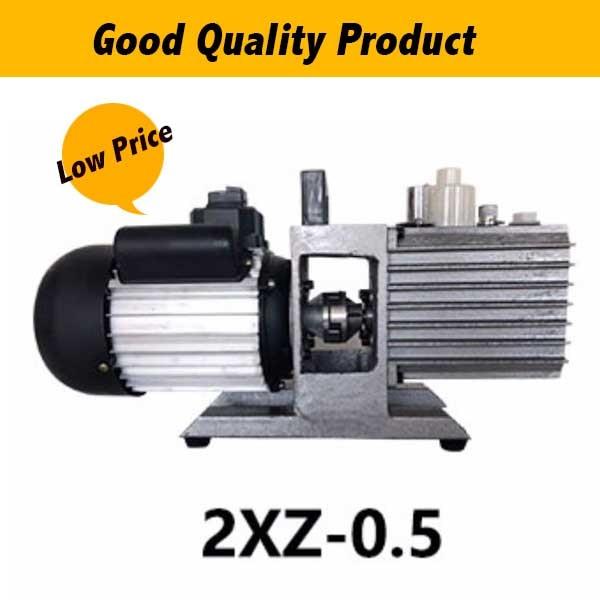 2XZ-0.5 220V bomba de vacío eléctrica de paletas rotativas 0.18KW USO DE PRODUCCIÓN DE AIRE ACONDICIONADO