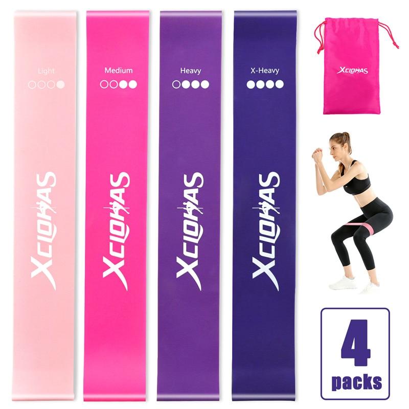 Эластичные резинки для йоги, тренажеры для занятий спортом, пилатеса