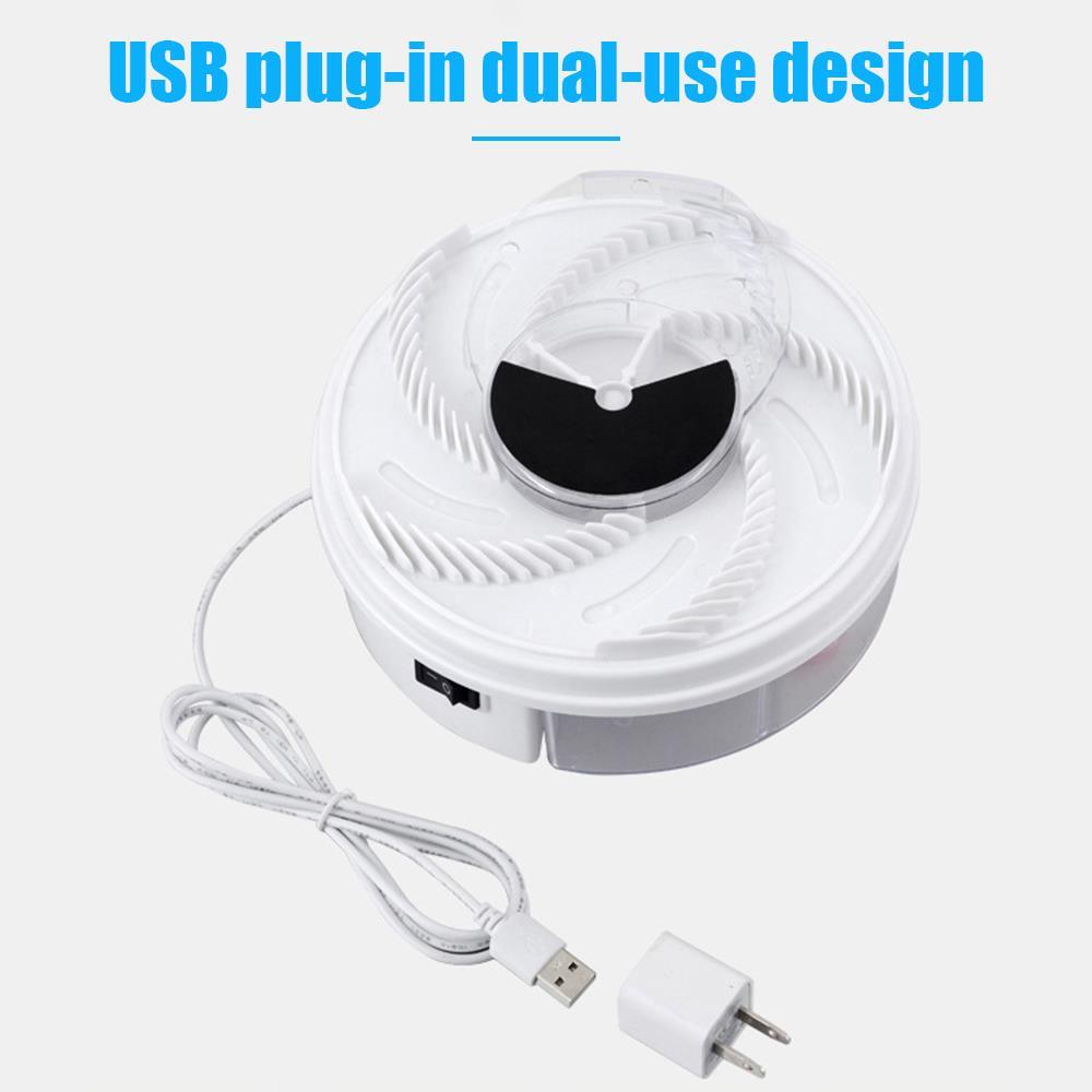 Trampa antimosquitos eléctrica USB, atrapamoscas automático, no tóxico, conveniente, mata mosquitos eléctrico,...