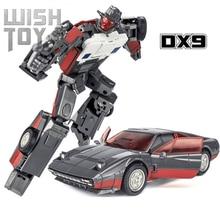 Transformation Roboter DX9 D16 D-16 D13 D-13 Henry Atilla Wildrider Stunticons Combiner Action Figure Sammlung Auto Modell Spielzeug