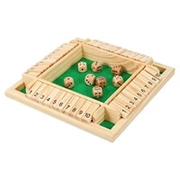 1 set shut the box game drinking dice game close the box dice game