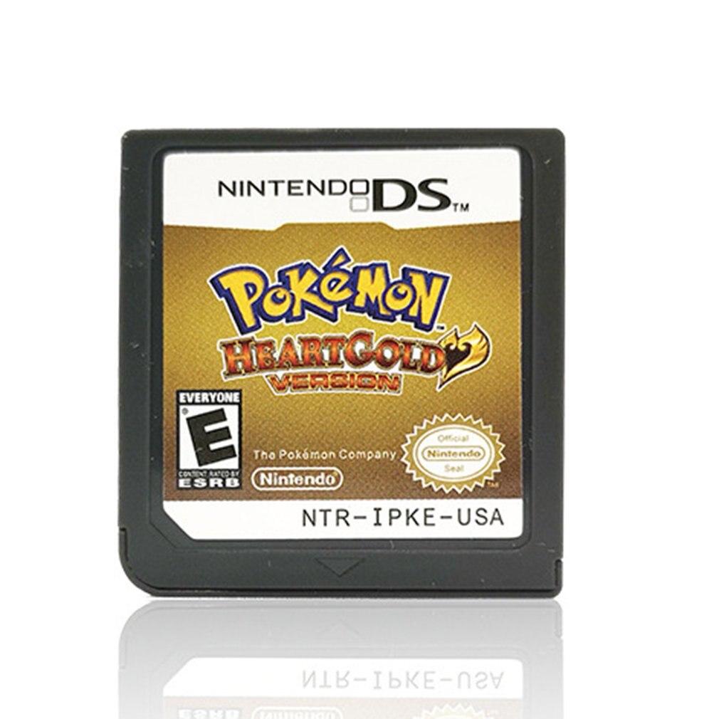 Tarjeta de juego de versión de Pokemon Platinum para DS 2/3DS NDSI NDS NDSL Lite, accesorios de Juego clásicos multicolores