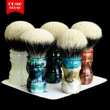 OUMO BRUSH -  Terracotta Warriors shaving brush with SHD Manchuria shaving brush knots gel city 26MM28MM