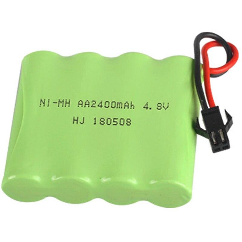 Grupo de baterías Ni-MH de 4,8 V y 2400MAh, iluminación eléctrica de juguete RC, batería AA 4,8 V 2400 para juguetes RC