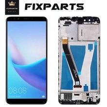 LCD dorigine pour Huawei Y9 2018 LCD écran tactile numériseur pour Huawei Y9 2018 affichage avec cadre FLA-L22 LX2 LX3 FLA-LX1