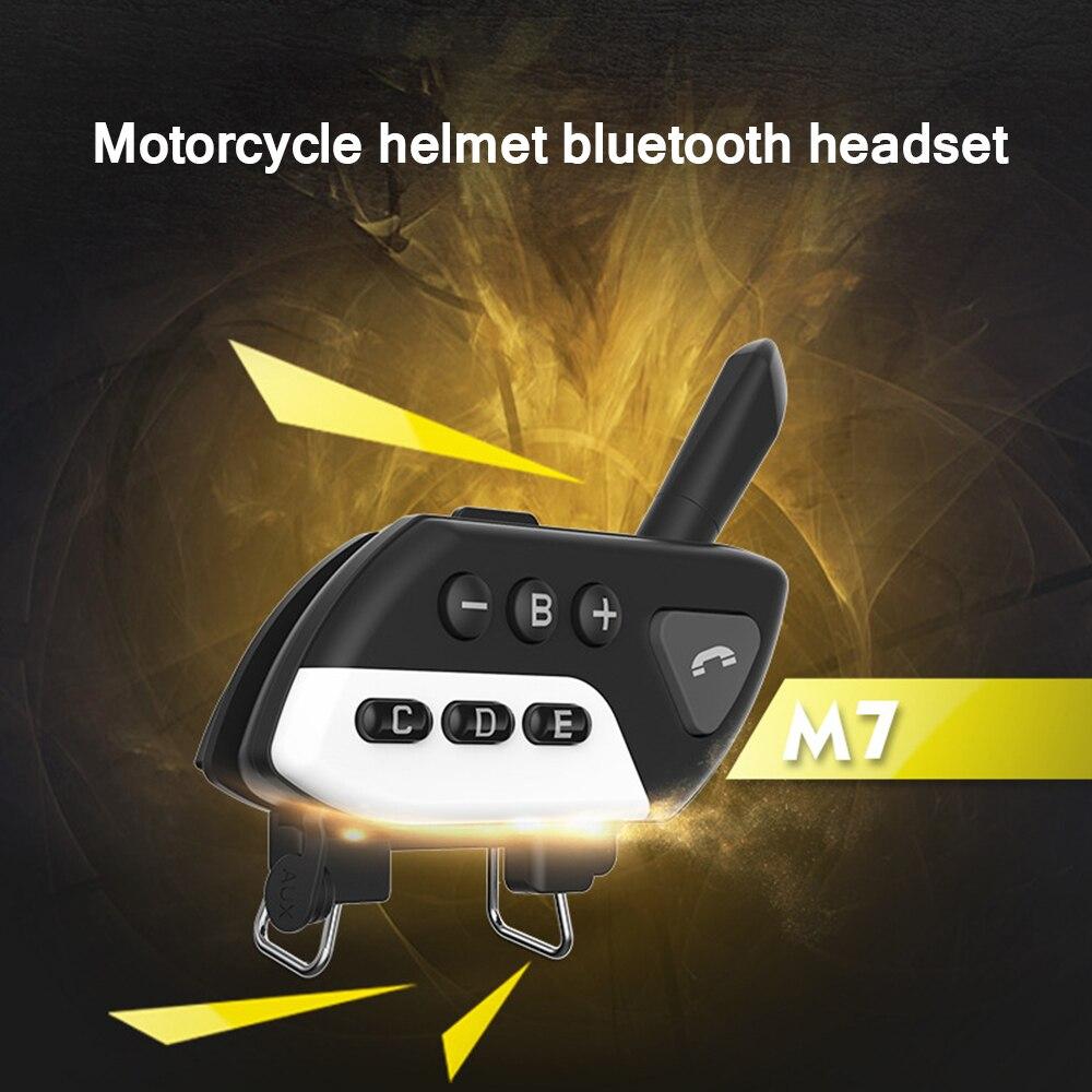 Interfono Multi BT para bicicleta de montaña 1200M, Intercomunicador Bluetooth para casco de motocicleta