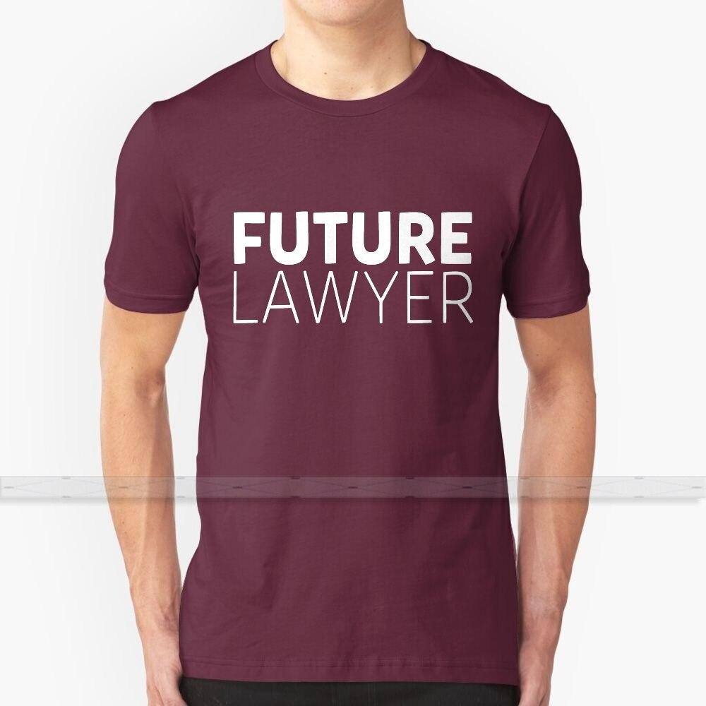 Estudiante futuro abogado camiseta T - Shirt de los hombres de la mujer verano 100% camisetas de algodón parte de arriba nueva Popular divertido T camisas abogado