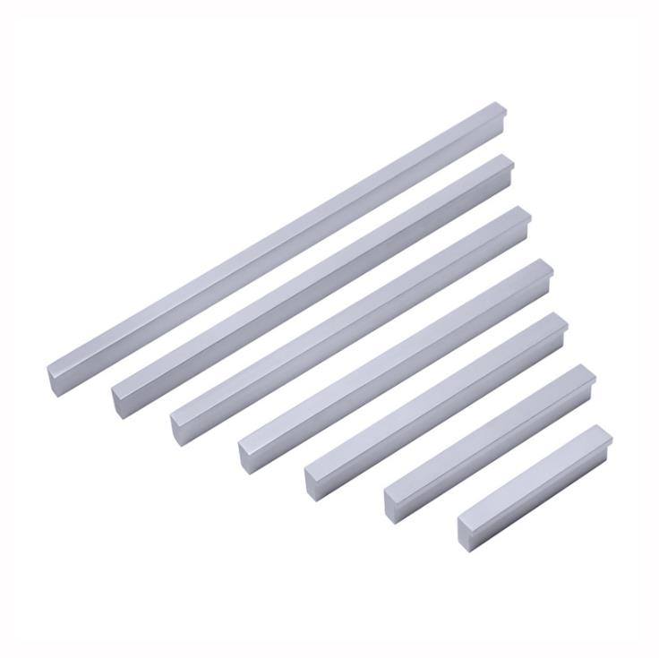 LCH Top Quality Matt Aluminium Alloy Flush Pull Flush Handle Cabinet Handle Drawer Pull Knobs Super Large Handles 1000mm