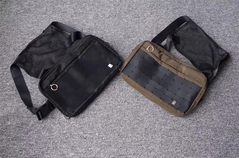 Alyx Cross Shoulder Bag 1:1 High Quality Kanye West Backpacks New Hot Fashion Casual Hip-hop Streetwear Functional Chest Bag