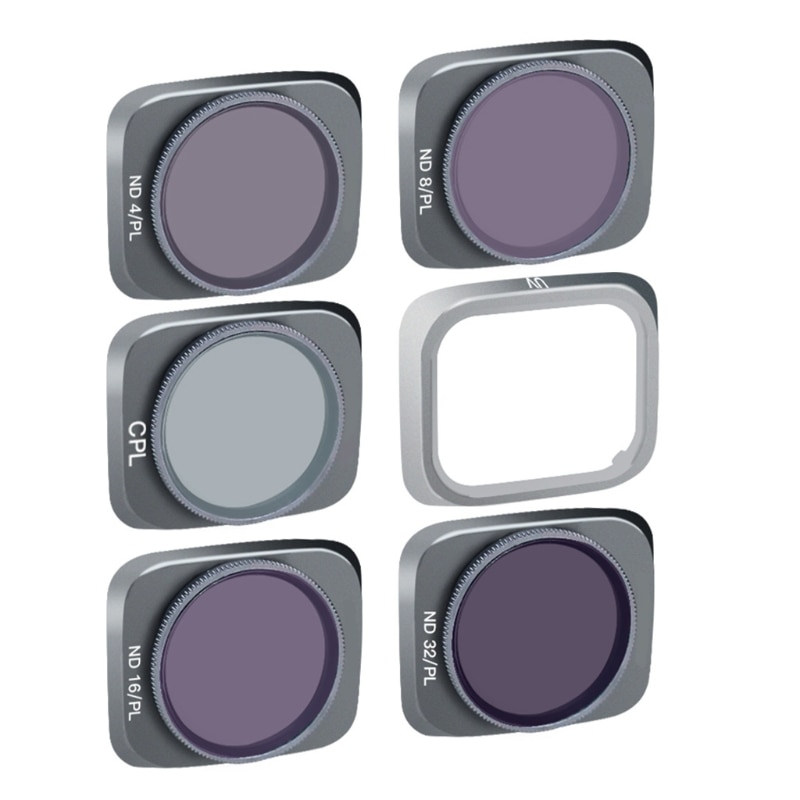 Professional Lens Filter Compatible with Air 2S Drone Accessory (UV CPL ND4-PL ND8-PL ND16-PL ND32-PL)