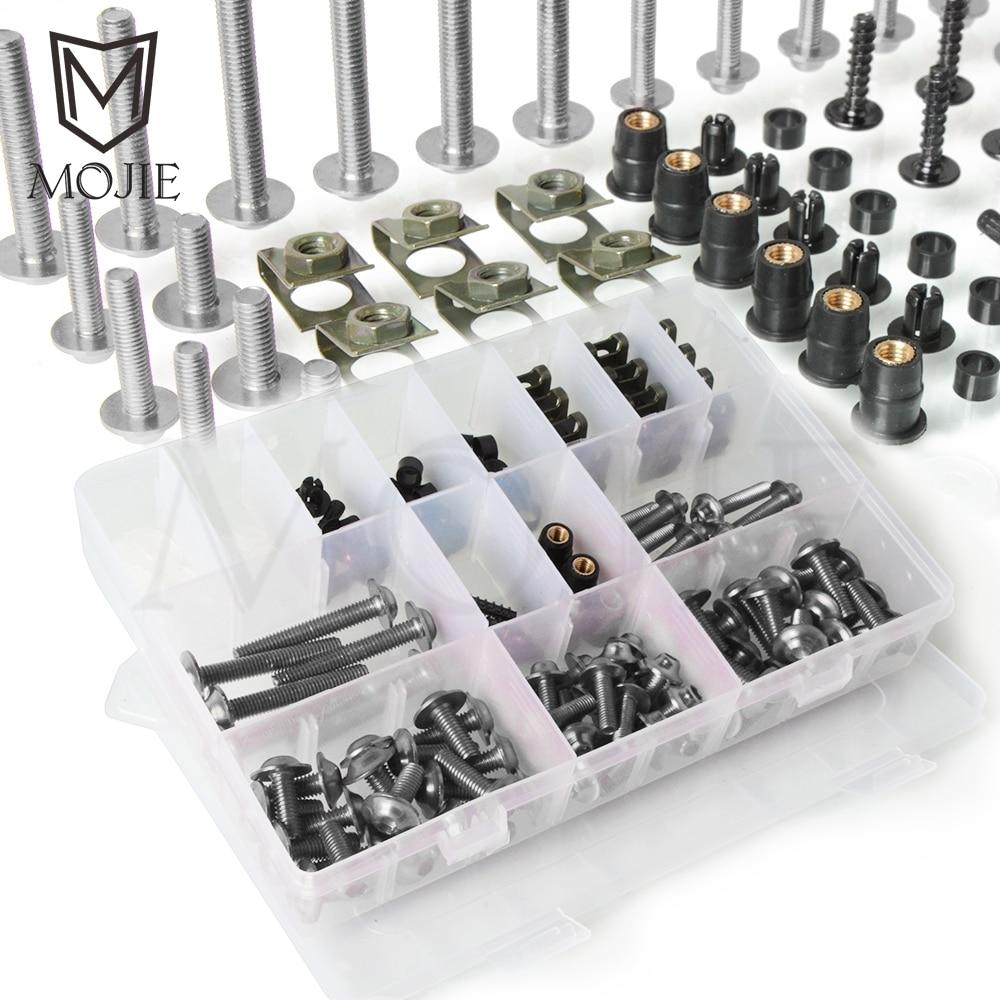 For Yamaha XJ6 DIVERSION XJ 6 N XJ 600 650 6F 700 750 900 XJR 1300 1400 Motorcycle Fairing Body Bolts Kit Fastener Clips Screw