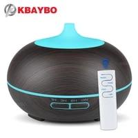 2020 300ml USB Diffuseur Darome Pour La Maison Humidificateur Dair Avec LED Lumieres Huiles Essentielles Brumisateur Ultrasonique de Grain en Bois Diffuseurs