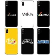 Amiga Logo For Xiaomi Mi 5X 6X Mix 1 2 2S 3 Mi5 Mi5S Mi6 Mi3 Mi4 poco X3 nfc F2 Pro M3 Soft Case Cov