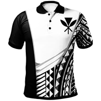 2021 new fashion hawaii personalised 3d polo shirt athletes style menwomen short sleeve design can custom drop shipping