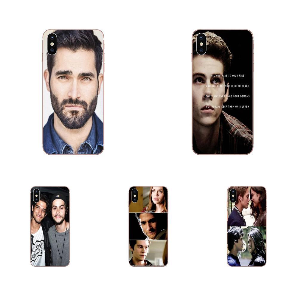 TPU piel protectora para LG G7 ThinQ G5 G6 K50 Q60 K40 K8 Q7 2018 2017 V40 V30 V20 V10 serie de Tv Teen Wolf.