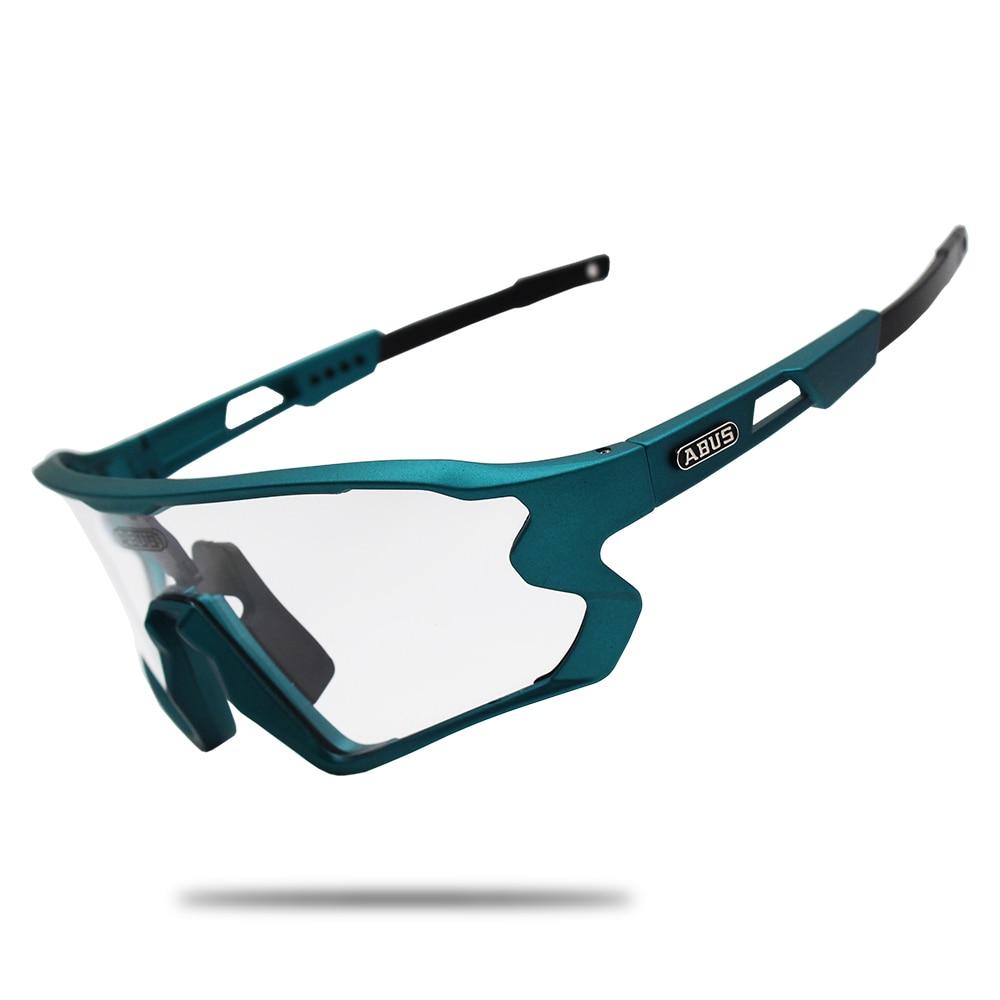 Sunglasses Black Photochromic Cycling Glasses UV400 MTB Bike Bicycle Riding TR90 Outdoor Sport Polarized Eyewear 1/5/6 lens